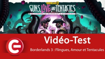 Test vidéo [Vidéo-Test] Borderlands 3 - Flingues, Amour et Tentacules : Lovecraft à la sauce brutasse !